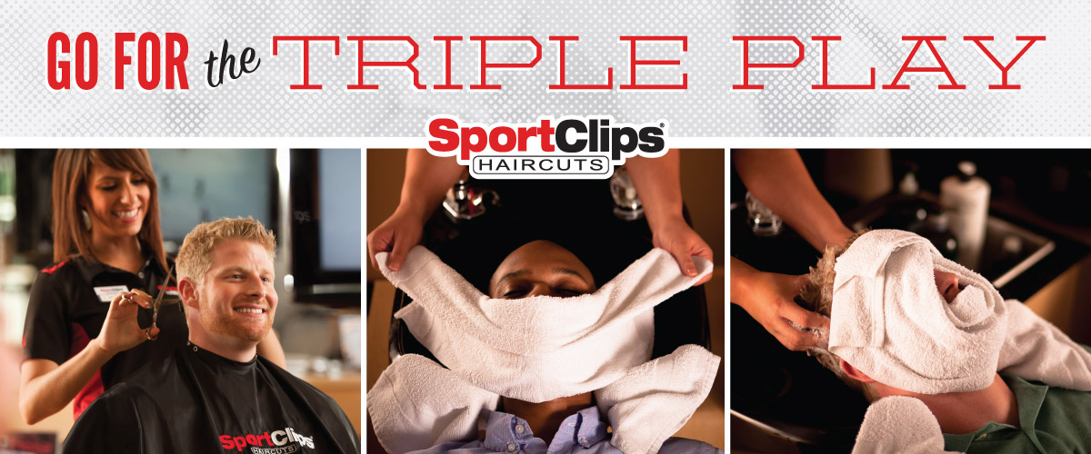 The Sport Clips Haircuts of North McAllen Triple Play