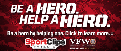 Sport Clips Haircuts of North McAllen​ Help a Hero Campaign